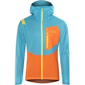 La Sportiva Hail - Veste Homme - orange/bleu